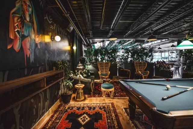 Kampai Leaves and Plants beer garden montreal nightlife bar