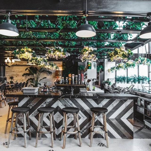Kampai beer garden bar montreal