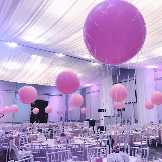 haute balloon luxury balloon montreal wedding