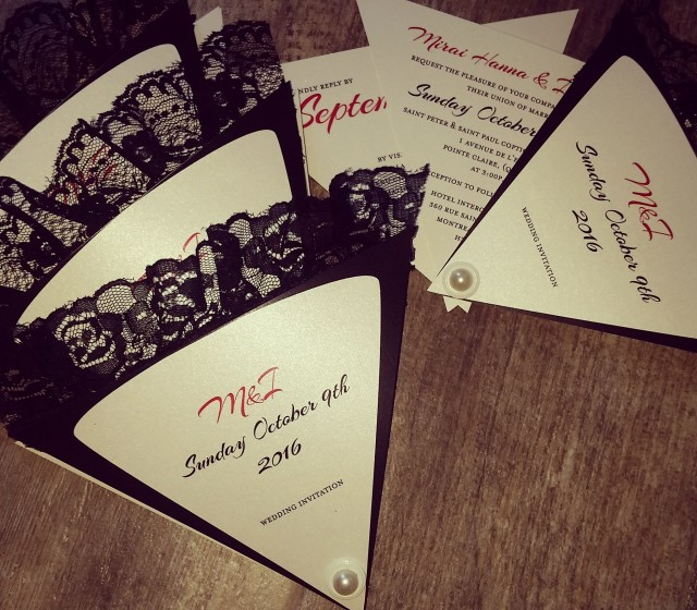 papier fashionista wedding invitations montreal