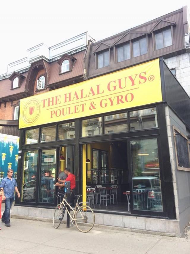 Halal Guys outside