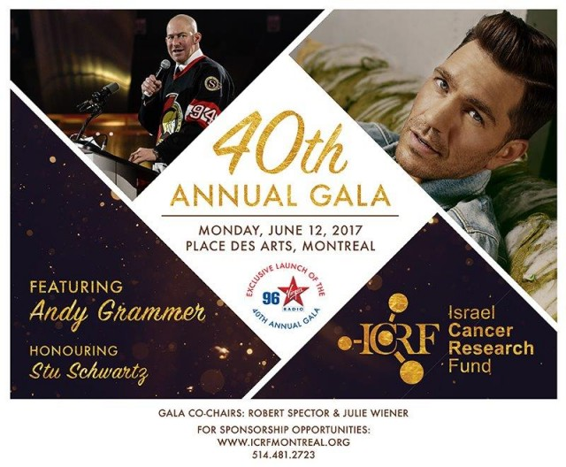 ICRF Gala Ad
