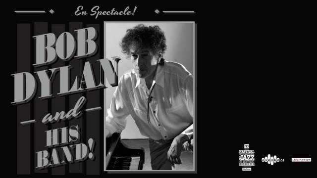 Jazz Fest Bob Dylan montreal