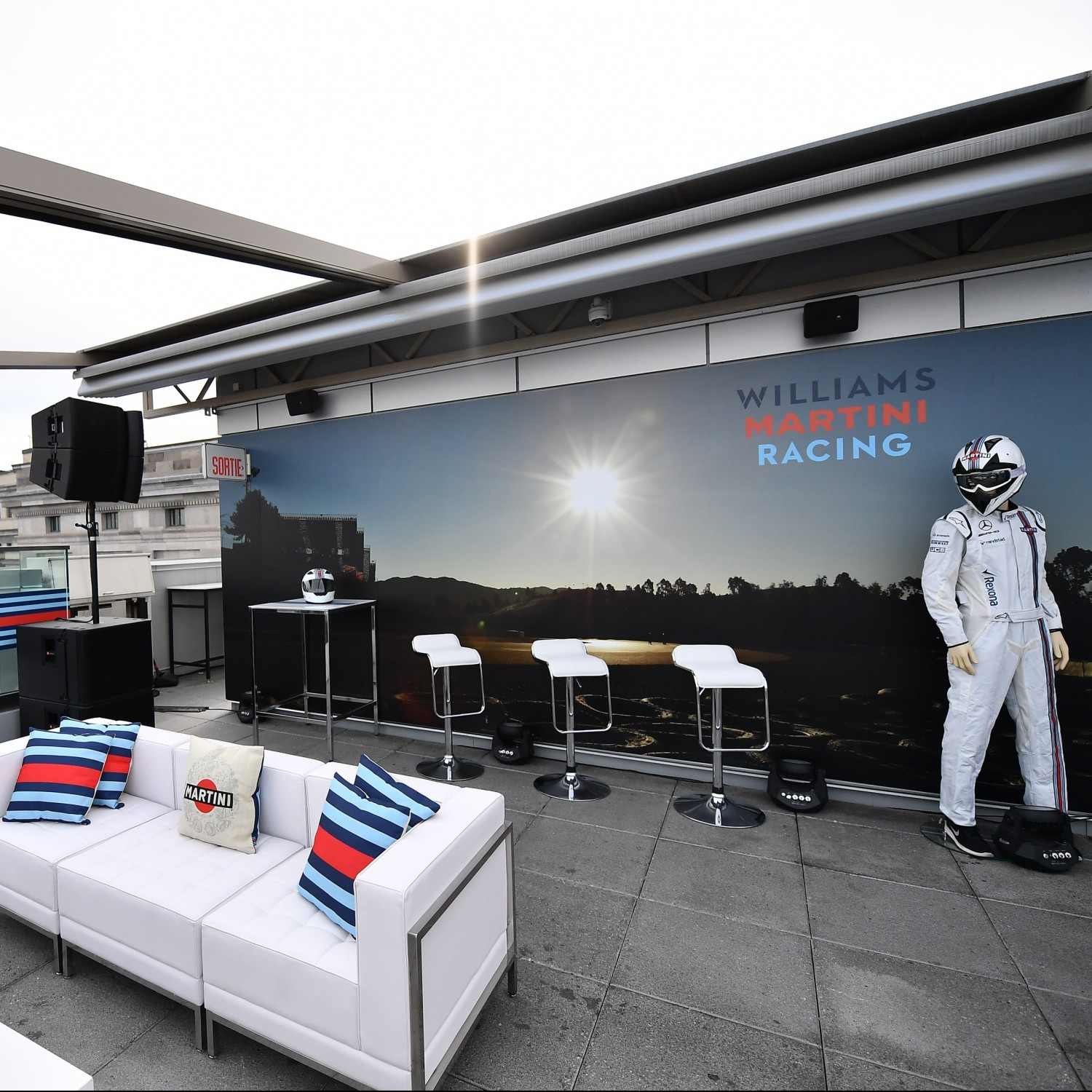 MARTINI williams racing montreal grand prix .Exterior
