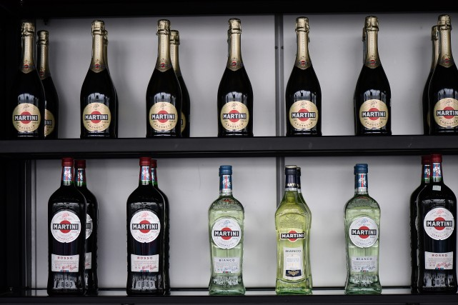 MARTINI williams racing montreal grand prix.Bottles