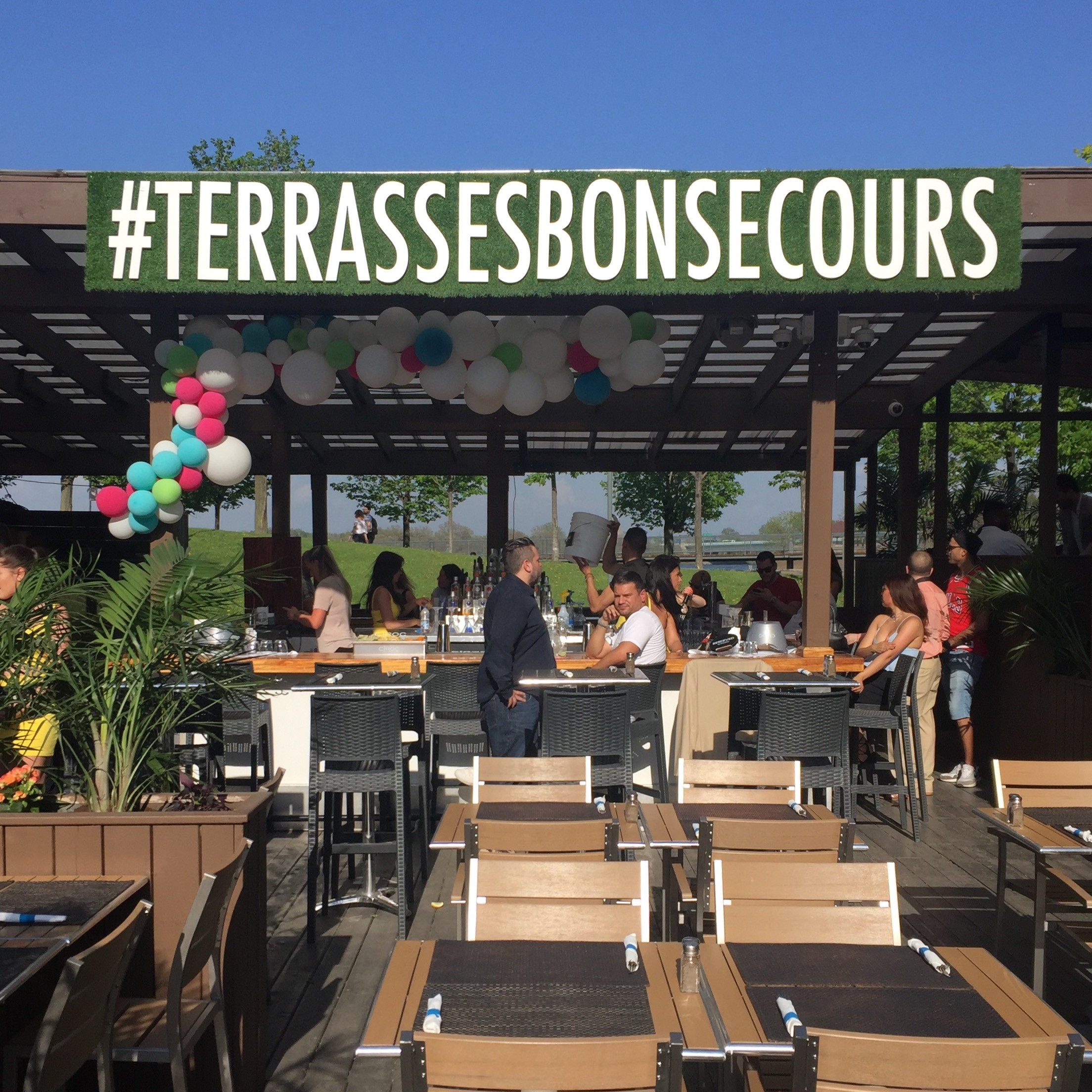 Terrasses Bonsecours Montreal Terrace 1