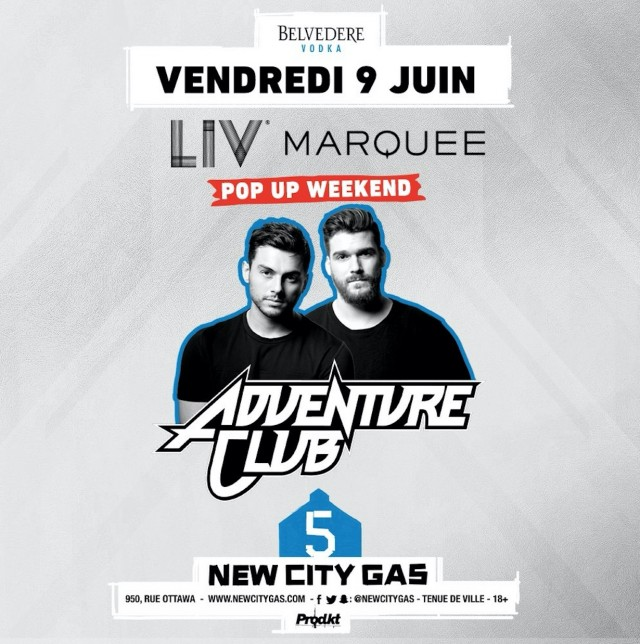 adventure club at new city gas montreal grand prix f1 weekend
