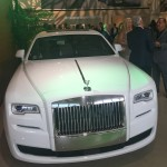Rolls Royce Launched Grand Prix Festivities With a Bang