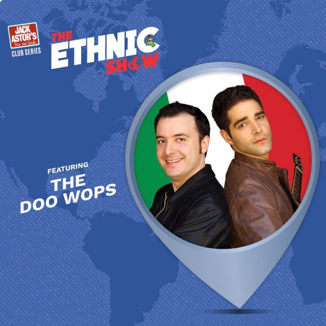 Doo Wops Ethnic Show Poster Doo wops montreal ethnic show just for laughs festival