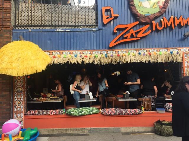 el zaziummm mexican texmex restaurant montreal 1