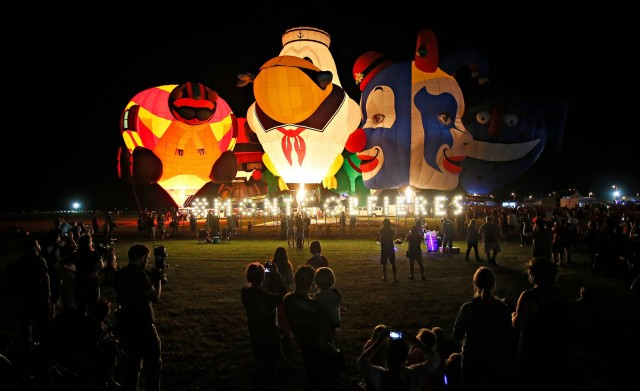 hot air balloon festival montgolfiere montreal st jean de richelieu 1