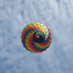 A Colourful Hot Air Balloon Festival Just Outside Montreal