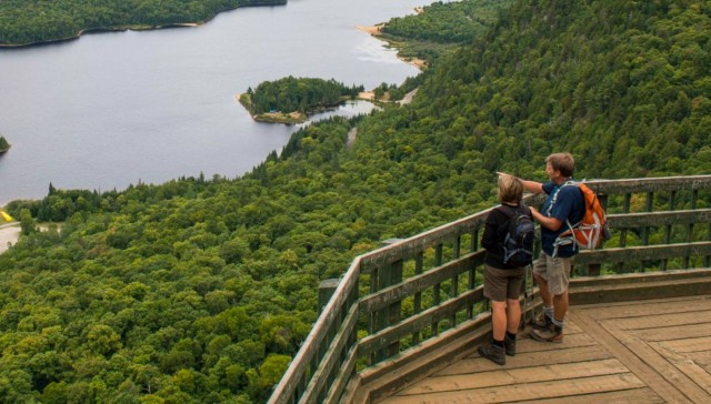 Parc national du mont tremblant montreal hiking