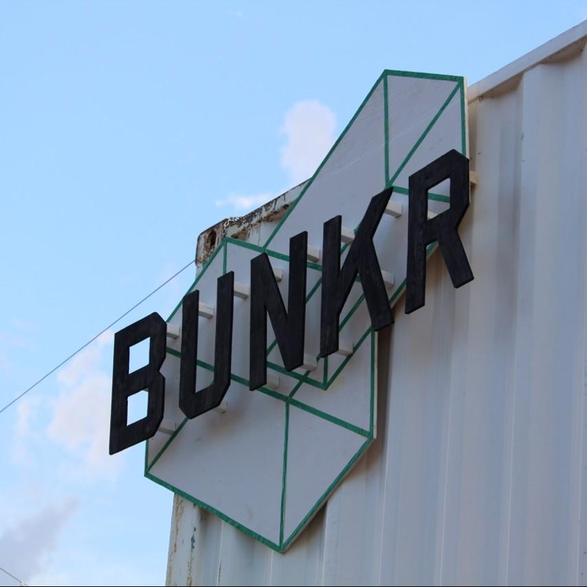 village bunkr montreal pop up village art installation 1