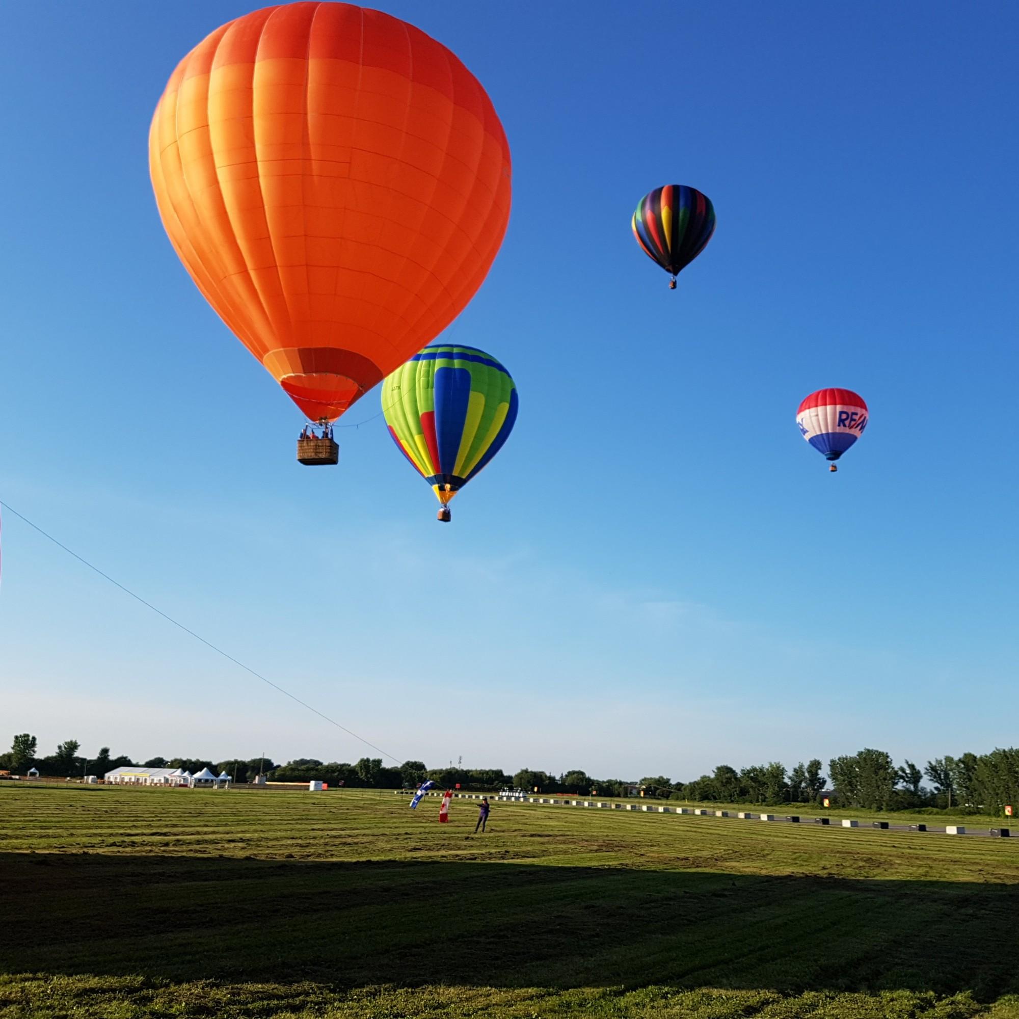 hot air balloon festival montreal 2