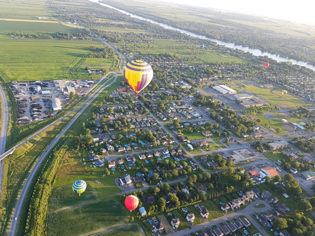 hot air balloon festival montreal 7