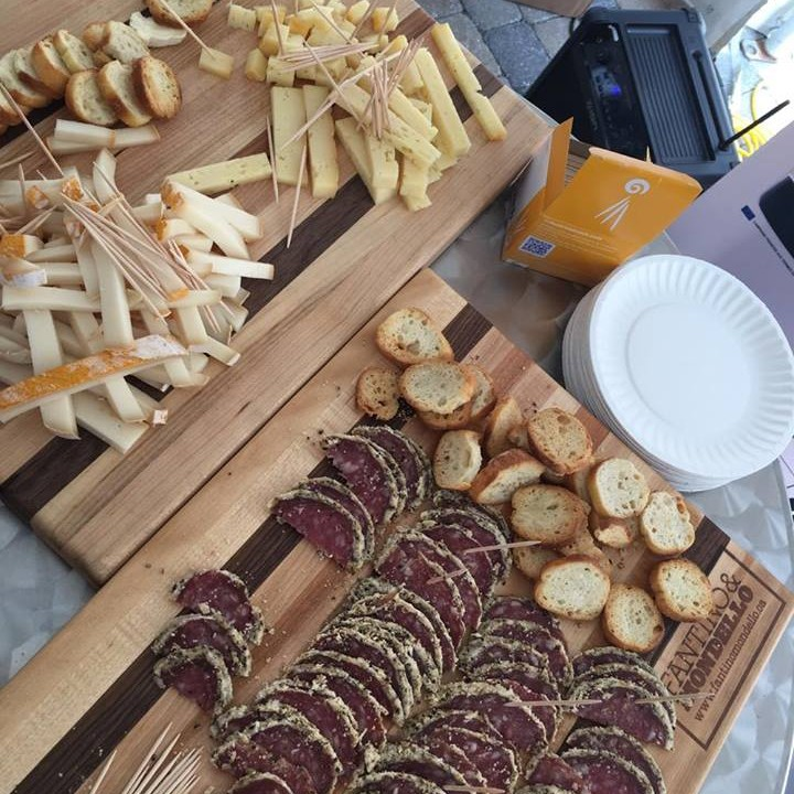Tremblant Gourmand Wine Tasting Cheese