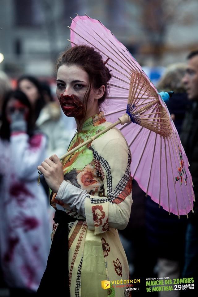 zombie walk montreal halloween 2