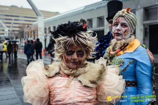 zombie walk montreal halloween 4
