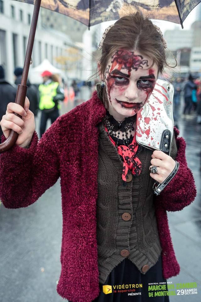 zombie walk montreal halloween 6