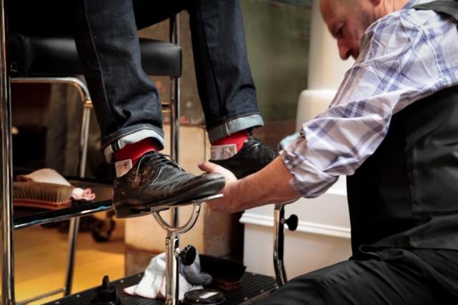 harry klein shoe shine montreal dapper guide