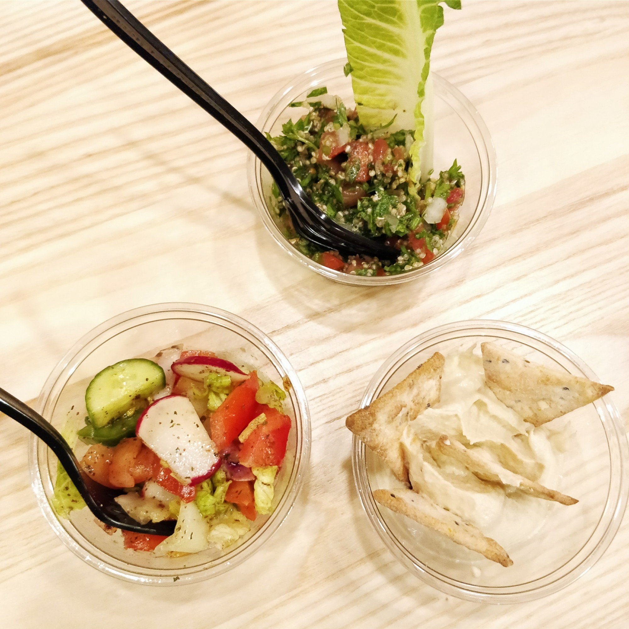 jouney-fattoush-tabbouleh-hummus