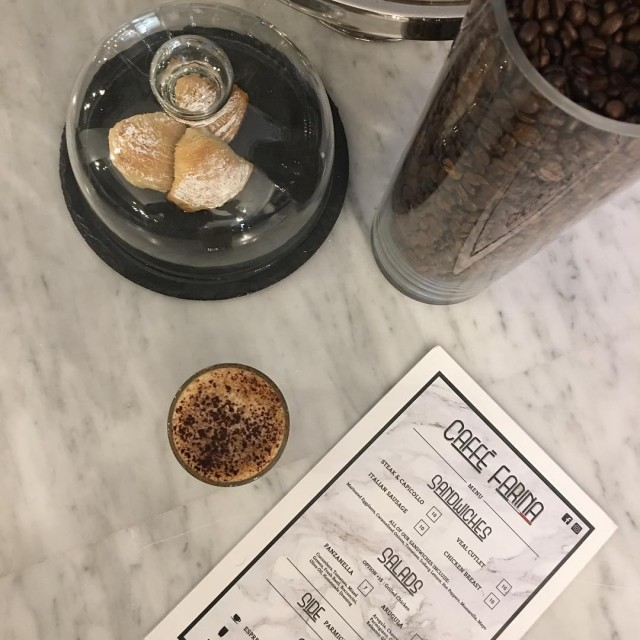 Caffe Farina [Restaurant:Cafe] Montreal 2