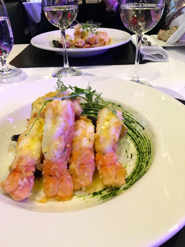 Casino Mont-Tremblant_Altitude Restaurant_Table DHote Langoustine Dinner (TH)