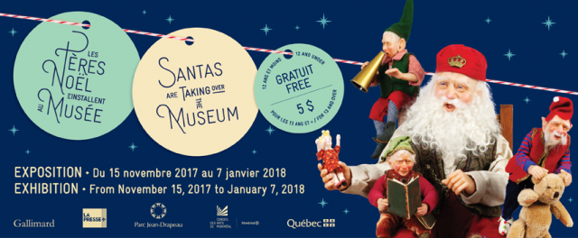 here comes santa clause stewart museum christmas exhibit
