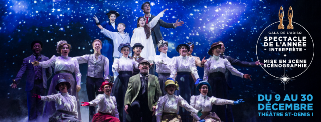 mary poppins theatre st denis montreal musical show christmas