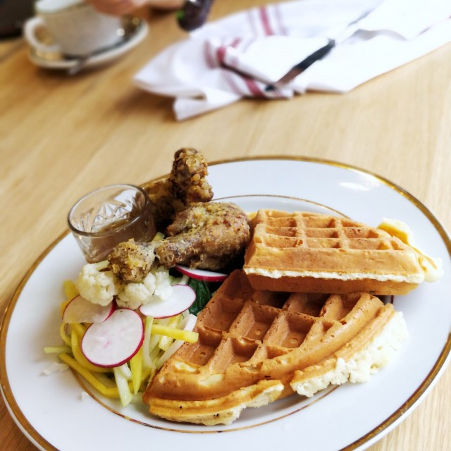 chicken and waffles - RC