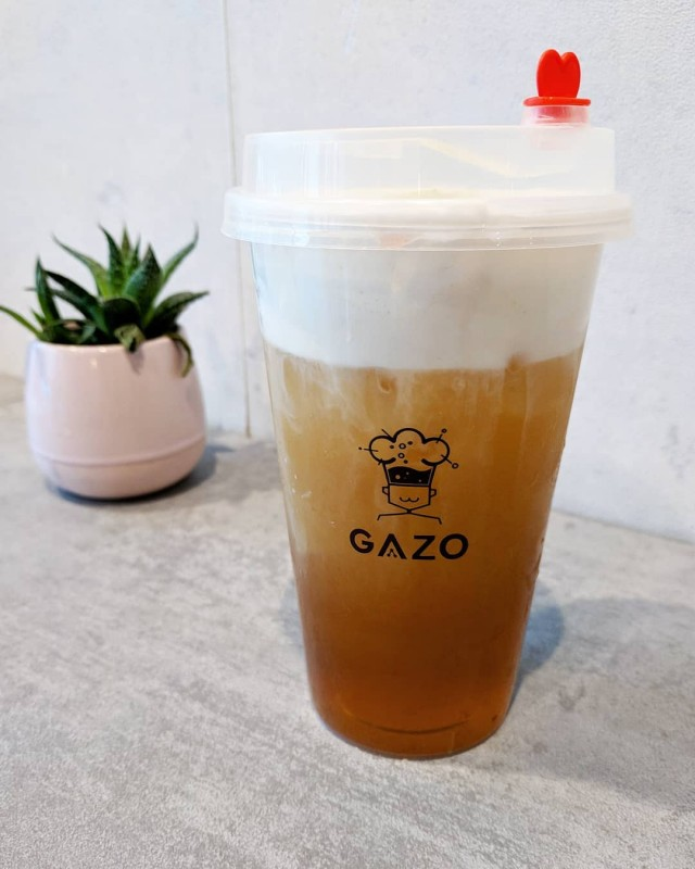 Gazo-oolong-cheese tea-blindedbyfood