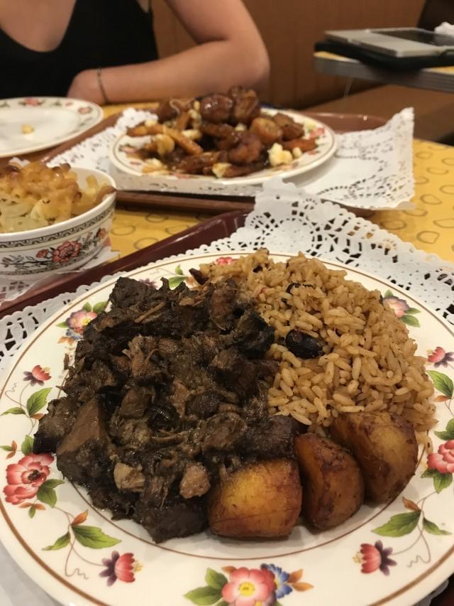 Lloydies Caribbean Restaurant Jerk Pork Plate NG
