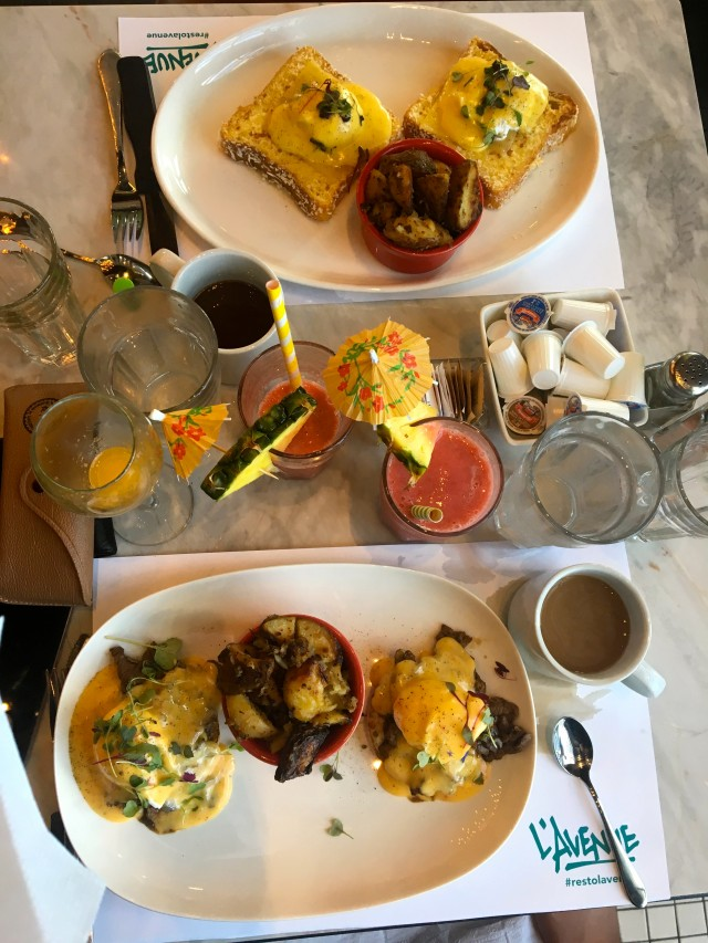 Brunch plates - zoomed out, birds eye view_TH