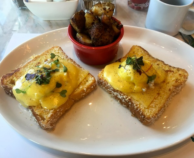 French toast eggs benedict_TH