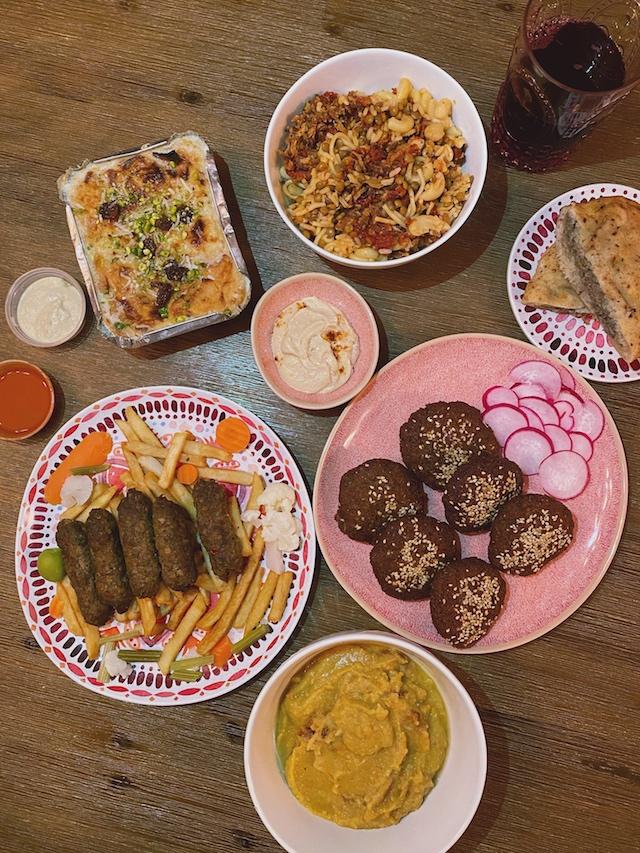 Egyptian food: falafels, kofta, kushari, and more